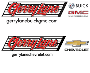 Gerry Lane logo on sports page